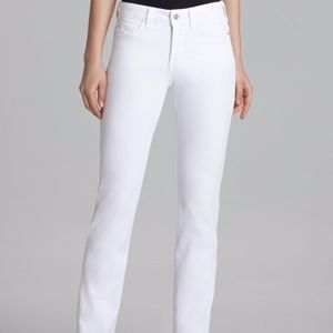 NYDJ Marilyn Straight Jeans Optic White - 6P